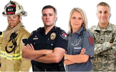 November Promotion – First Responder Appreciation – 1/2 Price Examinations for Military / Firefighters / EMT / Police / Other 1st Responders